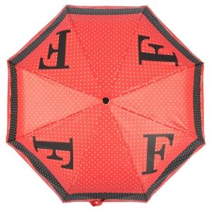 Зонт складной Ferre 6034-OC Pois F Red фото-3
