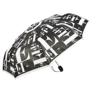 Зонт складной Ferre 6034-OC Symbol Black/White фото-2