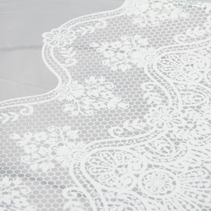 Зонт-трость GDJ 1215-LM Frivole Tulle Bianco long фото-3