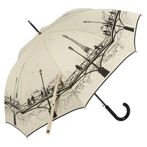 Зонт-трость Guy De Jean 1901-LM Bridge Crema long col9 фото-3