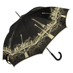 Зонт-трость GDJ 1901-LM Bridge Noir long col10 фото-3
