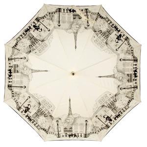 Зонт-трость Guy De Jean 1902-LM Paris crema long фото-2