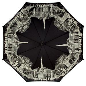 Зонт-трость Guy De Jean 1902-LM Paris Noir long фото-2