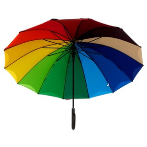 Зонт-трость Guy De Jean 6397-LA Rainbow Noir фото-2