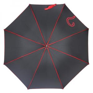 Зонт-Трость Joy Heart J9487-LA Question Black/Red фото-2