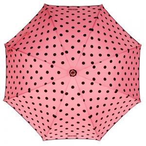 Зонт-трость Moschino 239-61AUTON Iconic dots Pink фото-2