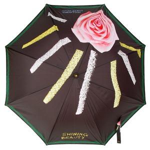 Зонт-трость Moschinoт 268-61AUTOA Shining Beauty long Black фото-2