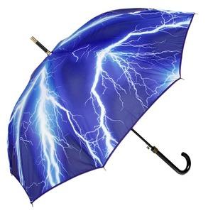 Зонт-трость Moschino 372-D63AUTOA Thunder and Rainbow long Black фото-2
