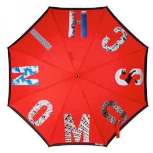 Зонт-трость Moschino 387-63AUTOC Photo Moschino long Red фото-2