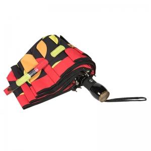 Зонт складной Moschino 417-OCA Maxi Pois Black фото-4