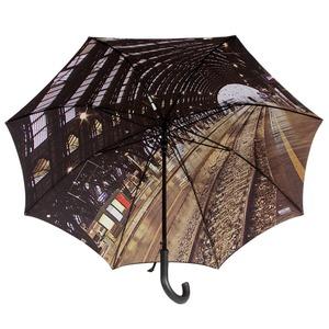 Зонт-трость Moschino 481-D67 Auto A Station фото-2