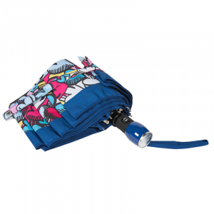 Зонт складной Moschino 7525-OCF Pop Hearts Blue  фото-4