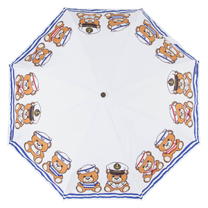 Зонт складной M 8001-OCB Sailor Bear White фото-3