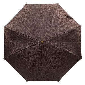 Зонт складной M 8190-OCE Jacquard Brown фото-2