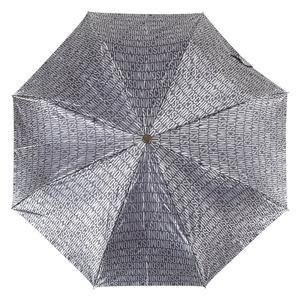 Зонт складной M 8190-OCL Jacquard Grey фото-2