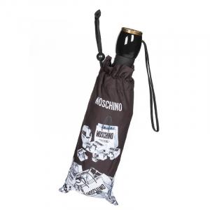 Зонт складной Moschino 8260-OCA Shopping Cartss Multi  фото-4