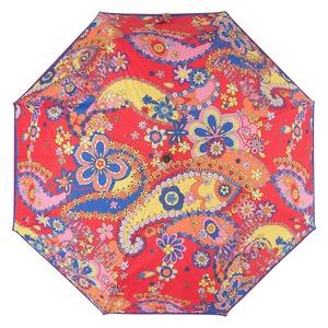 Зонт складной M 8264-OCC Paisley Red Multi фото-3