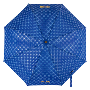 Зонт складной M 8270-OCF QM All-Over Blue фото-2