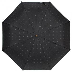 Зонт складной Moschino 8511-TOPLESSA Pois Logo Black фото-2