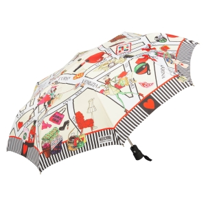 Зонт складной Moschino 354-OCI Streets of shopping фото-2
