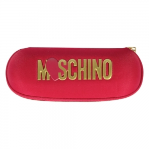 Зонт складной Moschino 8020-SuperrminiС Heart Logo Red фото-4