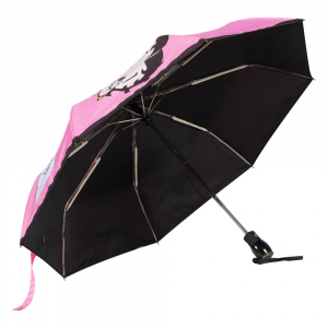Зонт складной Moschino 8022-OCN Betty Bimbo Photo Pink фото-3