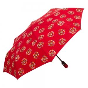 Зонт складной Moschino 8059-OCC Big Bear Circles Red фото-2