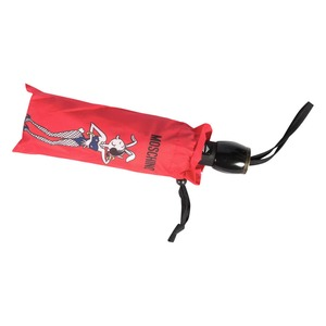 Зонт складной Moschino 8104-OCC Olivia Playboy Red фото-3