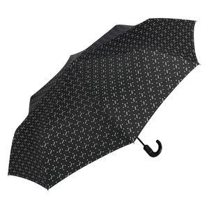 Зонт складной Moschino 8505-ToplessA Man dots Black фото-2