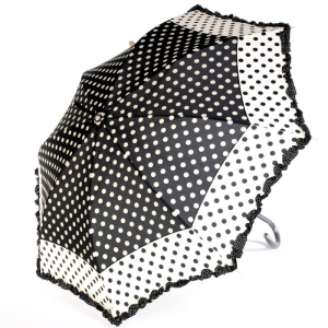Зонт-трость Ferre Woman Pois Nero фото-1