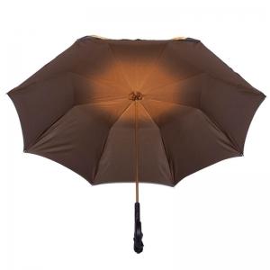 Зонт-трость Pasotti Anzi Georgin Giallo Pelle фото-5