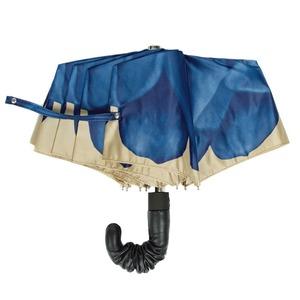 Зонт складной Pasotti Auto Georgin Blu Pelle фото-2