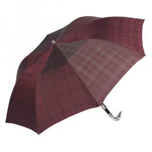 Зонт складной Pasotti Auto Bracco Silver Cell Bordo фото-2