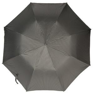 Зонт складной Pasotti Auto Classic Pelle StripesS Grey фото-3