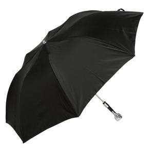 Зонт складной Pasotti Auto Ferro Silver StripesS Black фото-2