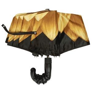 Зонт складной Pasotti Auto Georgin Giallo Pelle фото-2