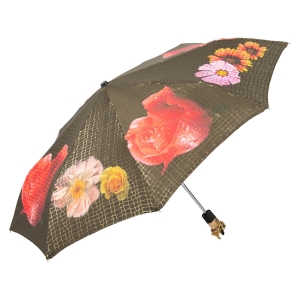 Зонт складной Pasotti Auto Pazzle Black Lux фото-2