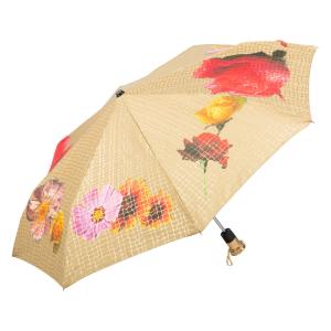Зонт складной Pasotti Auto Pazzle Sand Lux фото-2