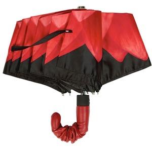 Зонт складной Pasotti Auto Georgin Rosso Pelle фото-2