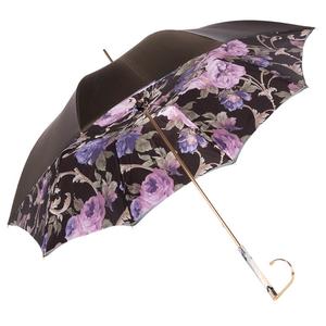 Зонт-трость Pasotti Becolore Beige Palazzo Viola Marble фото-3