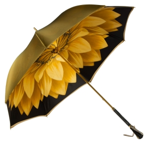 Зонт-трость Pasotti Becolore Georgin Giallo Swar фото-3