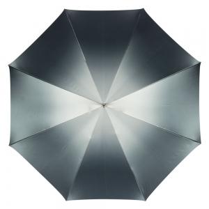 Зонт-трость Pasotti Becolore Grigio Leo Pelle  фото-2