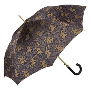 Зонт-Трость Pasotti Blu Feng Shui Pelle Rombo фото-3