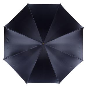 Зонт-трость Pasotti Blu Paisley Brown Rapira Oro фото-2