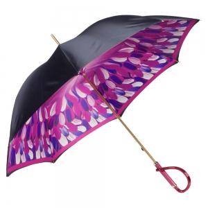 Зонт-трость Pasotti Blu Penna Fuxia Plastica фото-3