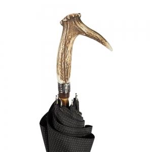 Зонт-трость Pasotti Cervo Punto Black фото-3