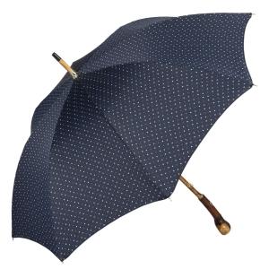 Зонт-трость Pasotti Chestnut Maple Dots Blu фото-3