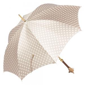 Зонт-трость Pasotti Chihuahua Pois Beige фото-3