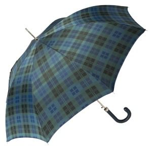 Зонт-трость Pasotti Classic Pelle Celtic Blu фото-3