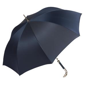 Зонт-трость Pasotti Eagle Pelle Oxford Blu фото-3